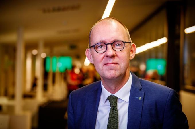Vincent Goemaere, voorzitter van Cercle Brugge. (foto Kurt)©KURT DESPLENTER BELGA