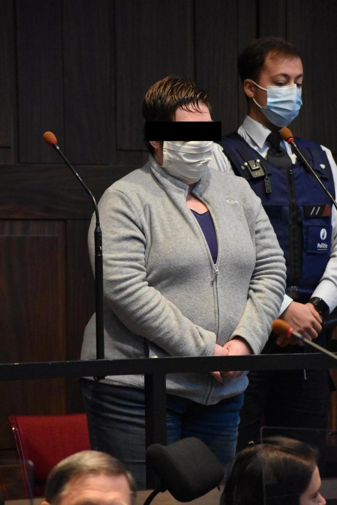 Beschuldigde Ann Vandekerckhove. (LK)