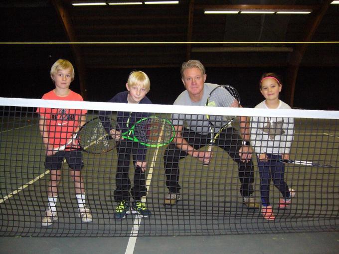 Bent Vulsteke, Thiebe Van Hecke, Win Nellen en Juno Hobo.© PPW