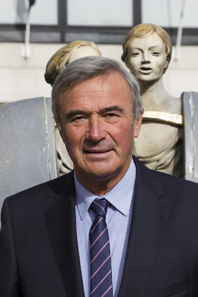 """Burgemeester Hendrik Verkest: """"We willen onze inwoners zo snel mogelijk beschermen tegen het coronavirus.""""©Wouter Meeus wme"""