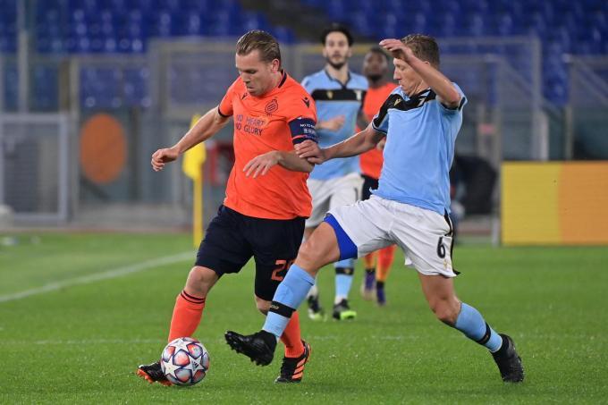 Ruud Vormer is één van de drie spelers van Club Brugge die positief testten.©ALFREDO FALCONE/LaPresse ALFREDO (Foto Belga)