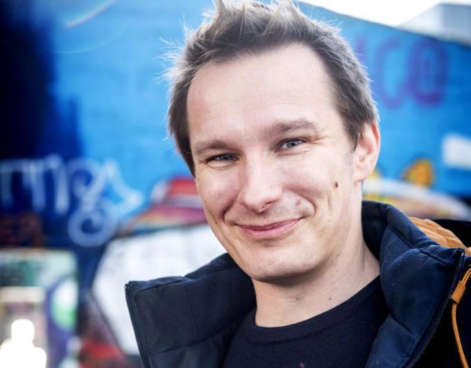 Pieter Deknudt uit Deerlijk is de frontman van Zinger.