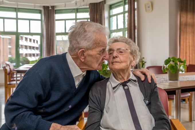 Frits en Carola waren liefst 78 jaar getrouwd.©Wouter Meeus Wouter Meeus