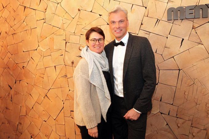 Herbert Verhaeghe met zijn echtgenote Elke.© PADI/Daniël