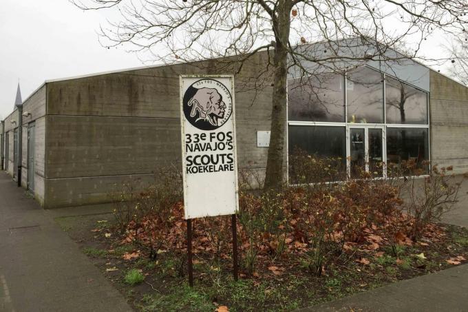 Het scoutslokaal wordt in de toekomst iets ruimer.©GINO COGHE Gino Coghe