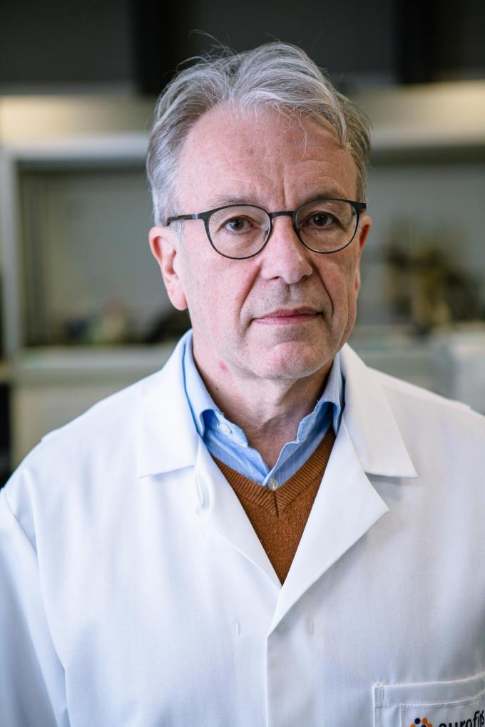 Toxicoloog Jan Cordonnier. (archief Davy Coghe)©Davy Coghe Davy Coghe