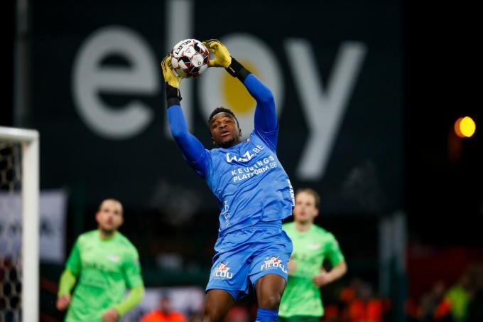 Einde contract voor Fabrice Ondoa van KVO.©BRUNO FAHY BELGA