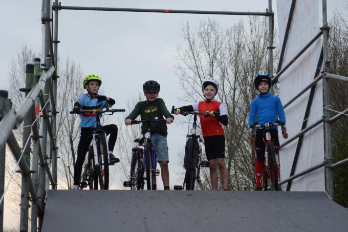 Het sportkamp in de week voor de cyclocross is altijd een succes.©Stefaan Lernout Stefaan Lernout