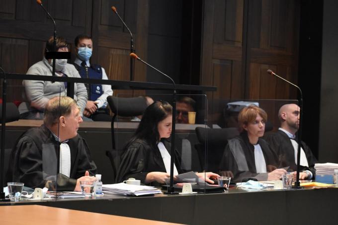Ann Vandekerckhove riskeert levenslang voor de gifmoord op haar zoontje Ferre. (LK)