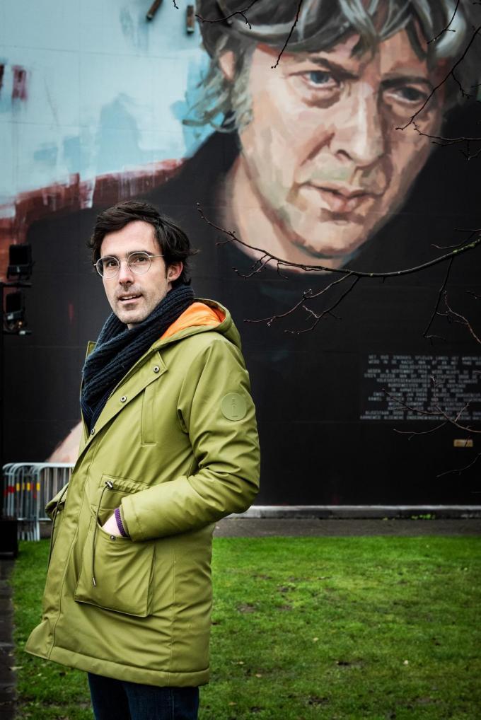 """Kristof Calvo: """"Eén man of vrouw die alle macht heeft, dat is een achterhaald model.""""© Christophe De Muynck"""