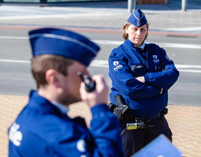 """Professor Jelle Janssens (UGent), expert op vlak van politieorganisatie: """"Wie in aantal agenten per gemeente denkt, verliest. Wie in termen van slagkracht en mogelijkheden denkt, wint bij werken op grotere schaal."""" (Foto Davy Coghe)©Davy Coghe Davy Coghe"""