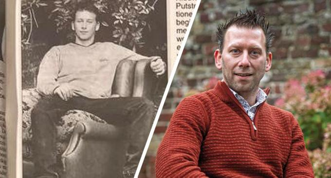 Lorenzo Dejonghe, vroeger en nu.© Joke Couvreur