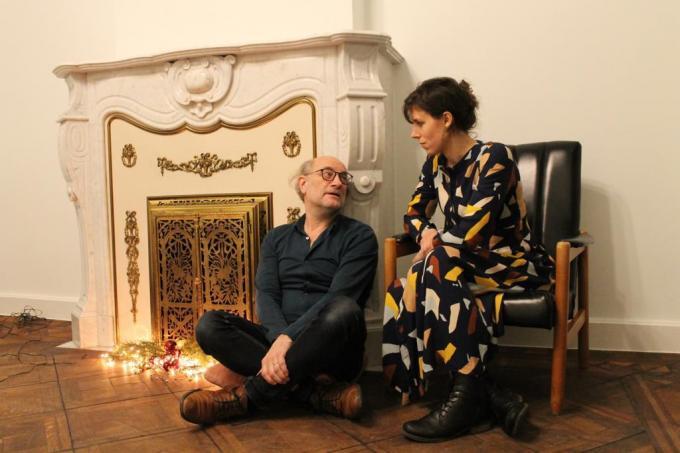 Geen toneelstuk, maar wel een podcast voor Wim Chielens en Margot Derycke. (gf)