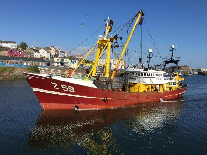Belgische vissers kunnen de eerste drie maanden van 2021 verder vissen in Britse wateren.©Peter MAENHOUDT