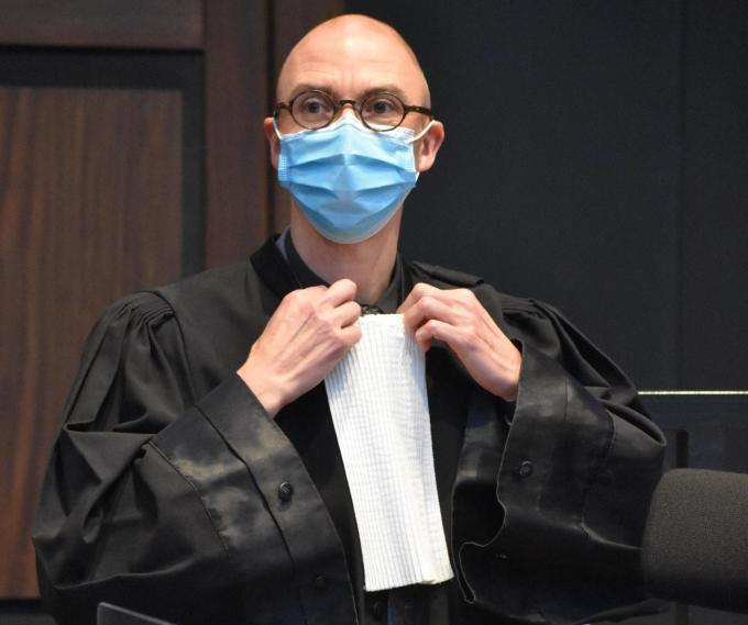 Advocaat Philip Ghekiere. (LK)