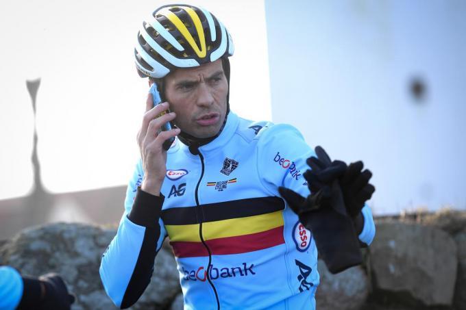 Sven Vanthourenhout: bondscoach van crossers én wegrenners. (foto Belga)©DAVID STOCKMAN BELGA