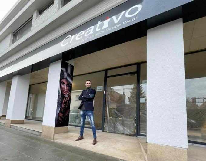 Ricardo Oliveira Ferreira opent begin volgend jaar danswinkel Creativo.© Fauve Martinez