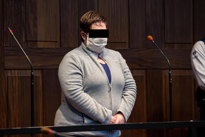 Ann Vandekerckhove riskeert levenslange opsluiting.©KURT DESPLENTER Belga