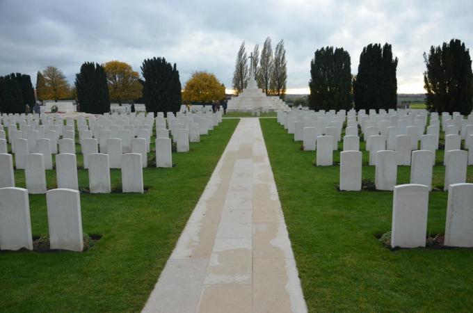 De CWGC staat onder meer in voor het onderhoud van Tyne Cot Cemetery in Passendale. (Foto TOGH)
