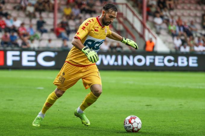 Bij KVK Kortrijk werd het contract van Sebastien Bruzzese na vorig seizoen niet verlengd.©DAVID PINTENS Belga