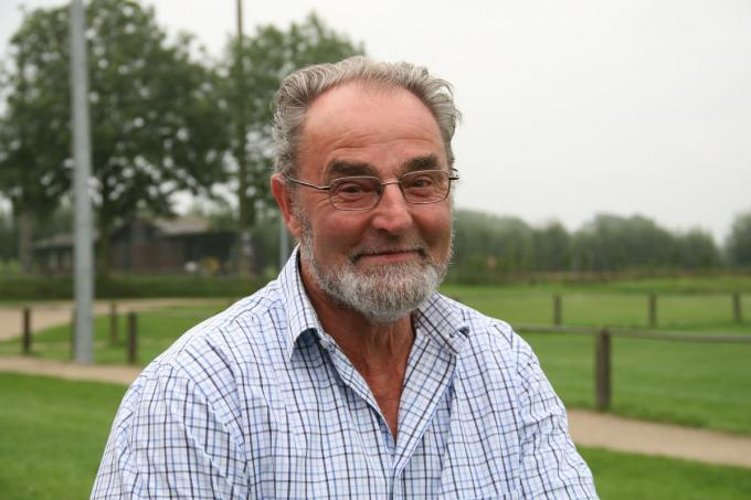 Willy Vermander werd tot inspirerende senior gekozen.©Johan Vandaele Archief KW
