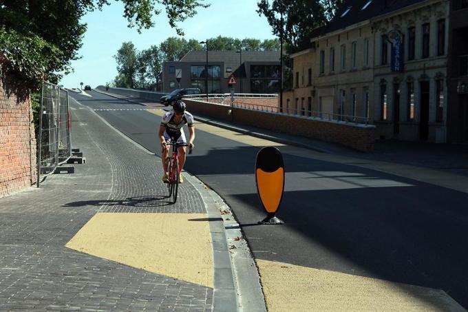 De nieuwe Brigandsbrug wordt opgenomen in het parcours.© FODI
