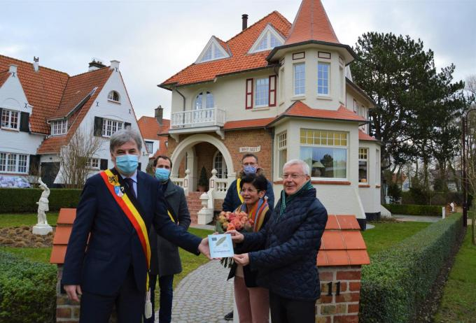 Ook Villa Why Not van Philip Costers en Karien Debaets kreeg een Erfgoedpluim.©WK WK