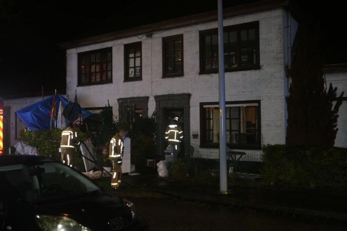 De brand werd gelukkig snel opgemerkt door een buurvrouw.© NDZ