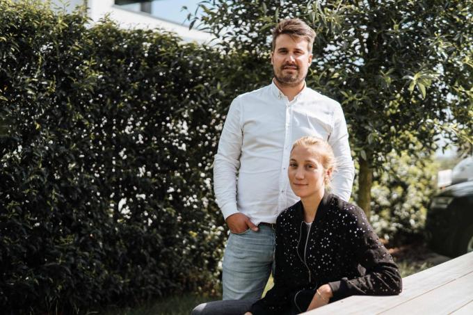 Thijs Prophete en zijn vrouw Pauline Joye van Inside Building.© gf
