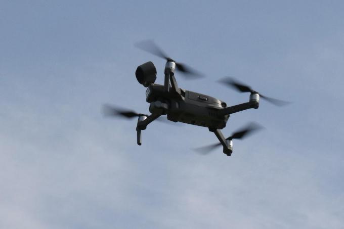 Politiezone Arro Ieper beschikt sinds vorig jaar over een eigen drone.©Eric Flamand Eric Flamand