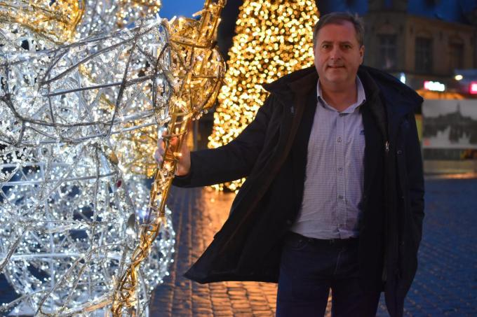 """Burgemeester Christof Dejaegher: """"Kerstfeest bij mijn ouders? We doen het gewoon niet. Simpeler kan het niet zijn."""" (foto TOGH)"""