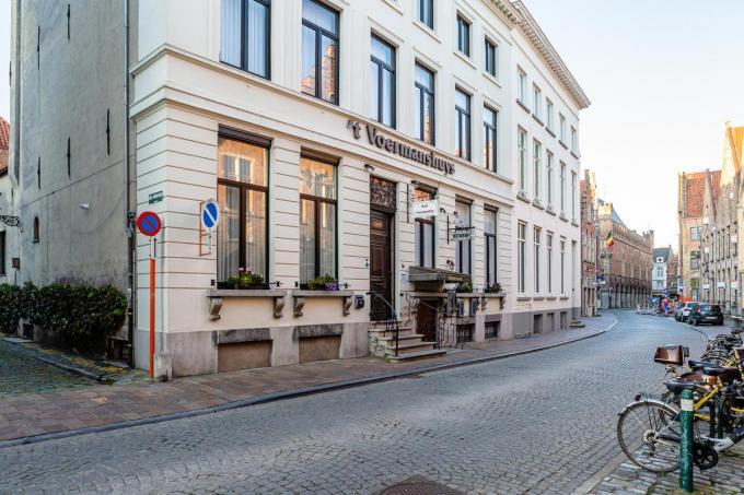 Hotel 't Voermanshuys is het eerste Brugs hotel dat al de boeken neerlegde. (Foto Davy Coghe)©Davy Coghe Davy Coghe