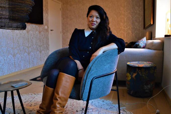 Sun Mee Nele Cattrysse (42) kaapte onlangs op het Kortfilmfestival Leuven de VAF Wildcard voor beste scenario weg.© WK