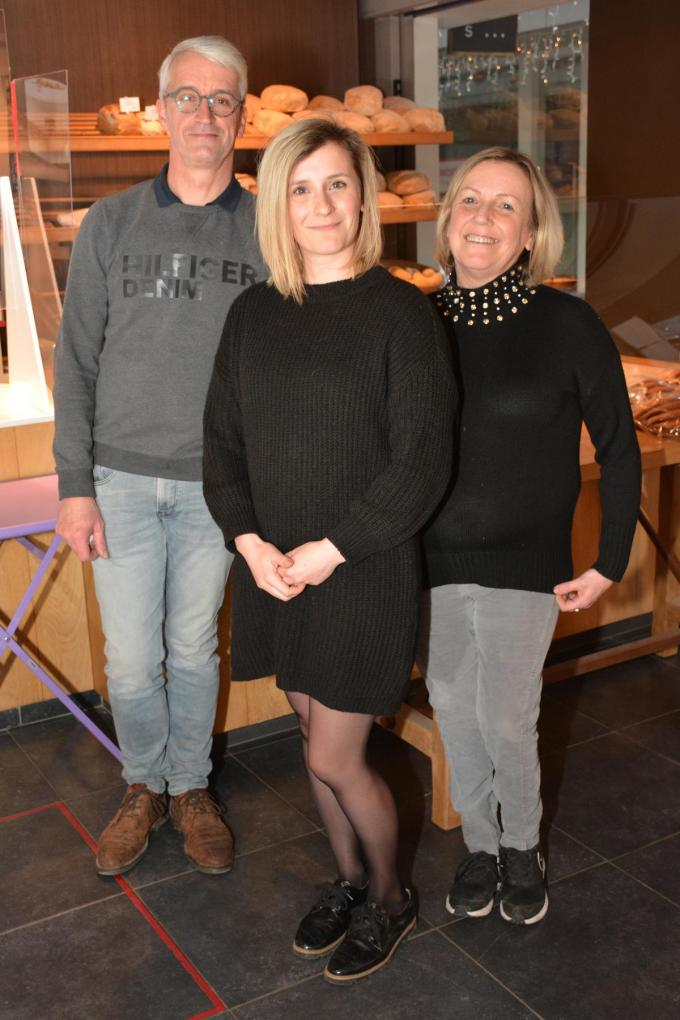 Dirk Daelewijn, Elisa Daelewijn en Yolanda Nijs. (foto Hein Demeyer)©Hein Demeyer
