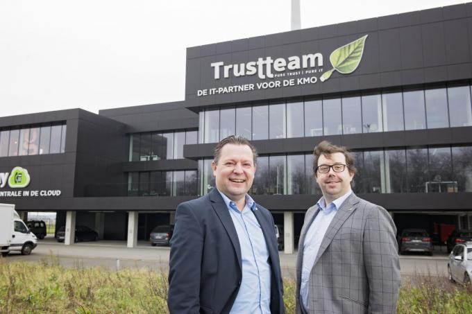 Pascal Pinket en Stijn Vandeputte van Trustteam.© GF