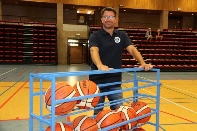 Bruce Minne blijft mogelijk langer bij Basket SKT Ieper.© (Foto EF)