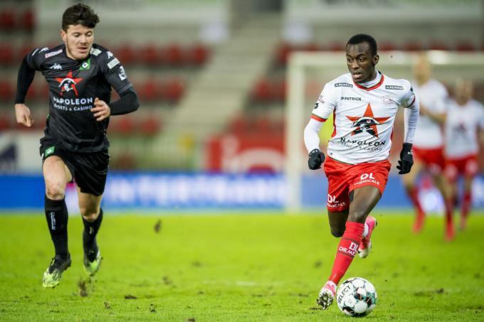 Invaller Jean-Luc Dompé scoorde het enige doelpunt van de wedstrijd.© (Foto Belga)
