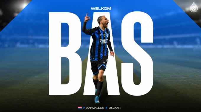 Club Brugge legde met Bas Dost een topspits vast.© Club Brugge
