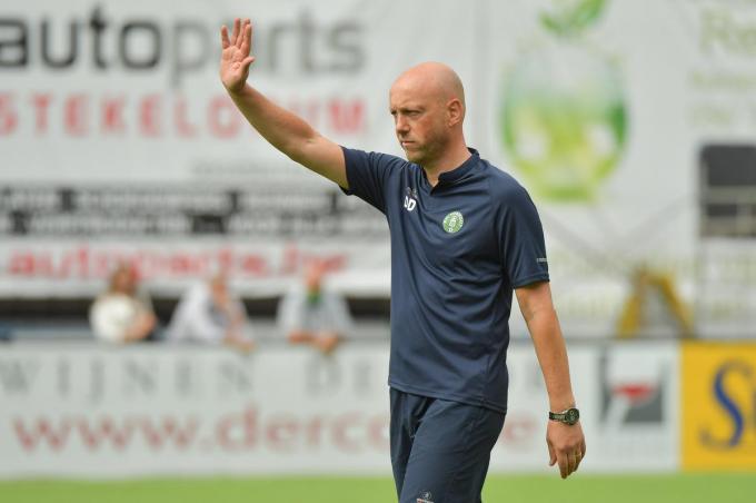 Didier Degomme stopt na dit seizoen als trainer van Torhout.©Dirk Vuylsteke / VDB VDB