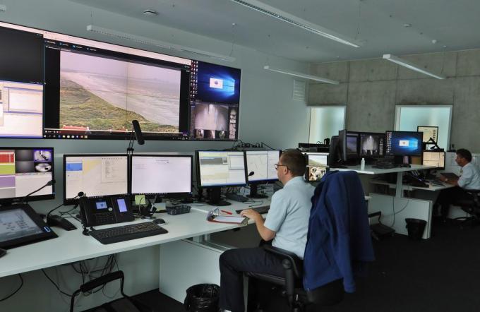 PZ Westkust werkt met een efficiënt cameranetwerk.© MVO