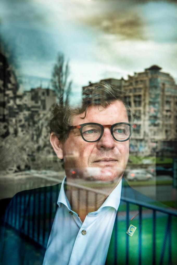 """Bart Tommelein: """"Ik blijf burgemeester. Ik keer niet meer terug naar het nationale niveau.""""© Christophe De Muynck"""