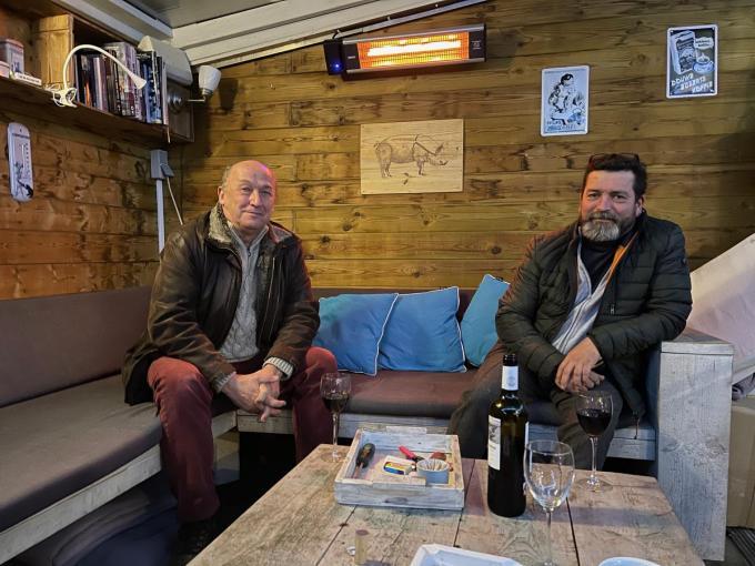 Bestuursleden Jan Willems en Joeric Van Haecke. (foto AV)