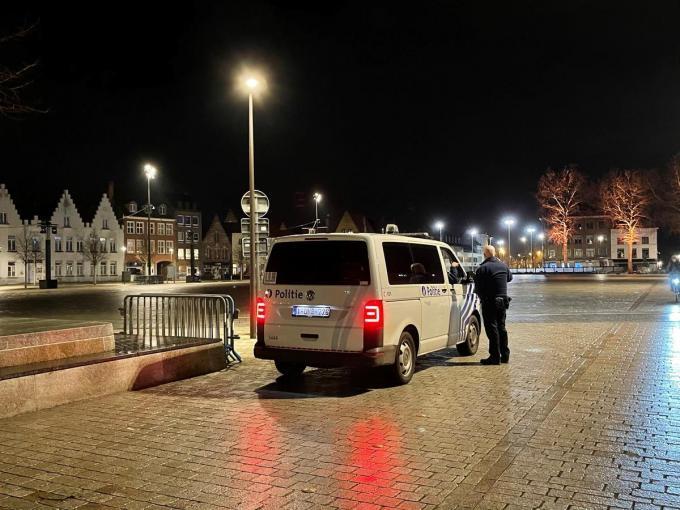 Ook in Brugge bleef het rustig.© JVMA