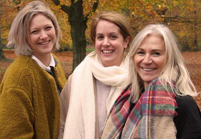 Anne-Sophie Bossuyt, Virginie Labaere en Ann Fossé delen hun passie voor HR. (gf)
