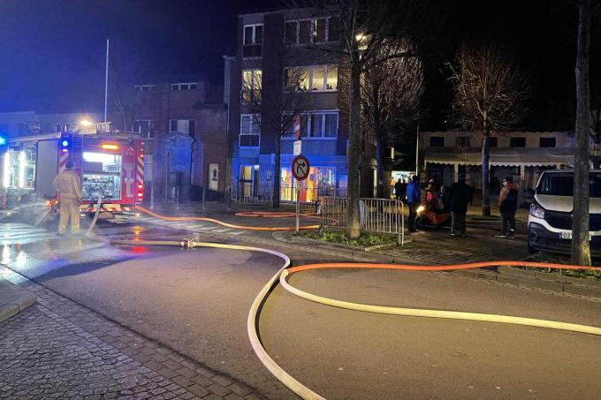 Zowel op tweede Kerstdag als op Nieuwjaarsdag brak brand uit in het restaurant.© foto JR