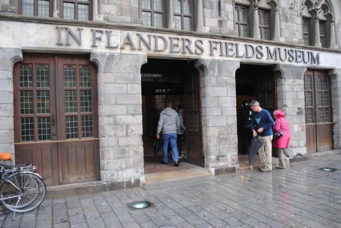 Het In Flanders Fields Museum klokte af op 3.803 bezoekers in de kerstvakantie. (Foto TOGH)