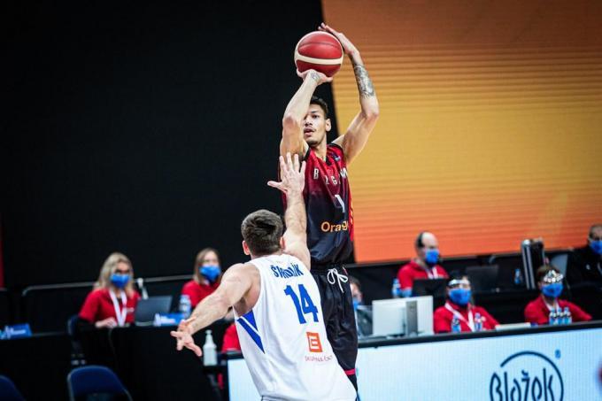 Michael Gilmore.© FIBA