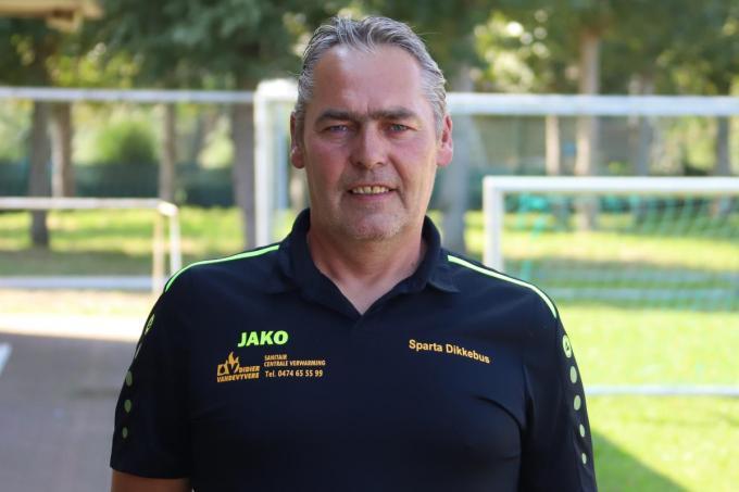 Diego Valcke neemt eind dit seizoen afscheid als hoofdcoach van Sparta Dikkebus.© foto Bart