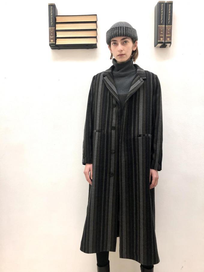 Tijdloos met een twist: outfit in de herkenbare stijl van Stephan Schneider.© Stephan Schneider