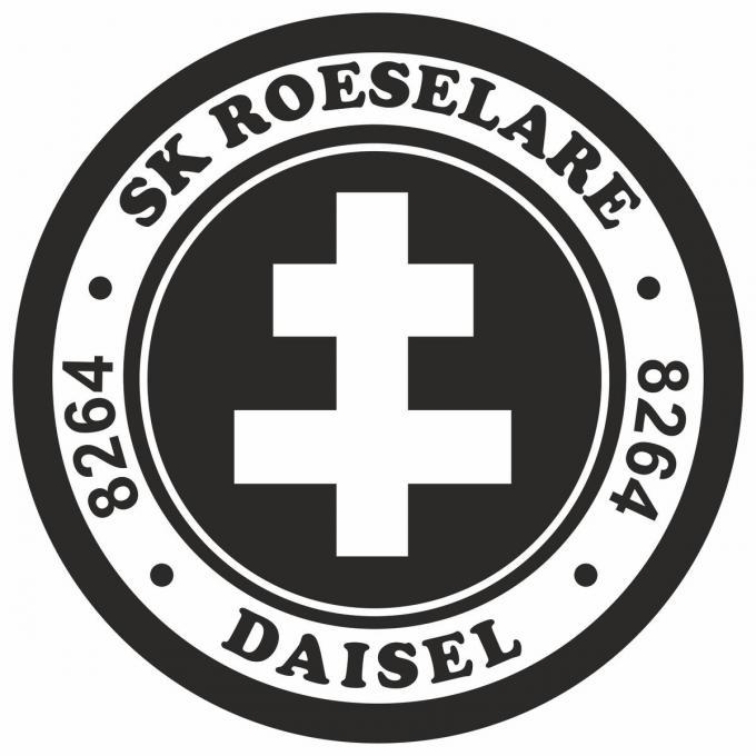 Het nieuwe logo van SK Roeselare-Daisel.